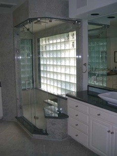 Accent Shower Door Mirror